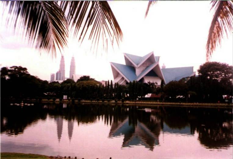 The Palace of Culture and the Petronas- Kuala Lumpur