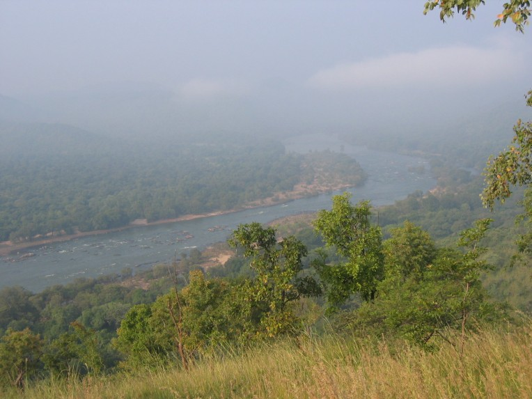 Watch those curves of Cauvery. And remember still waters run deep
