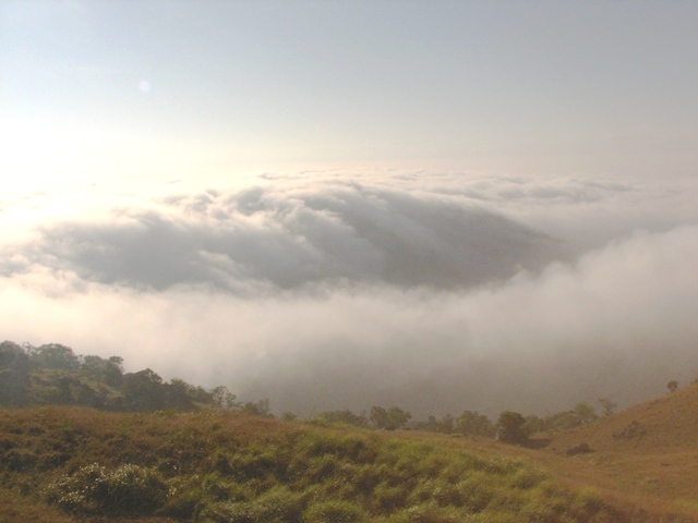 view from Gopalswamy betta