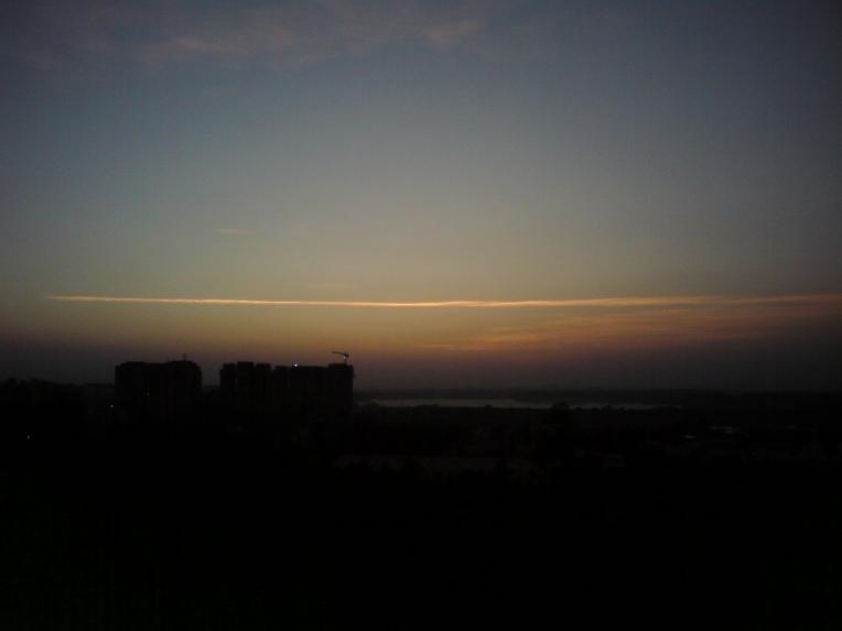 sun set line