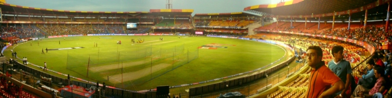 Chinnaswamy Stadium Panorama