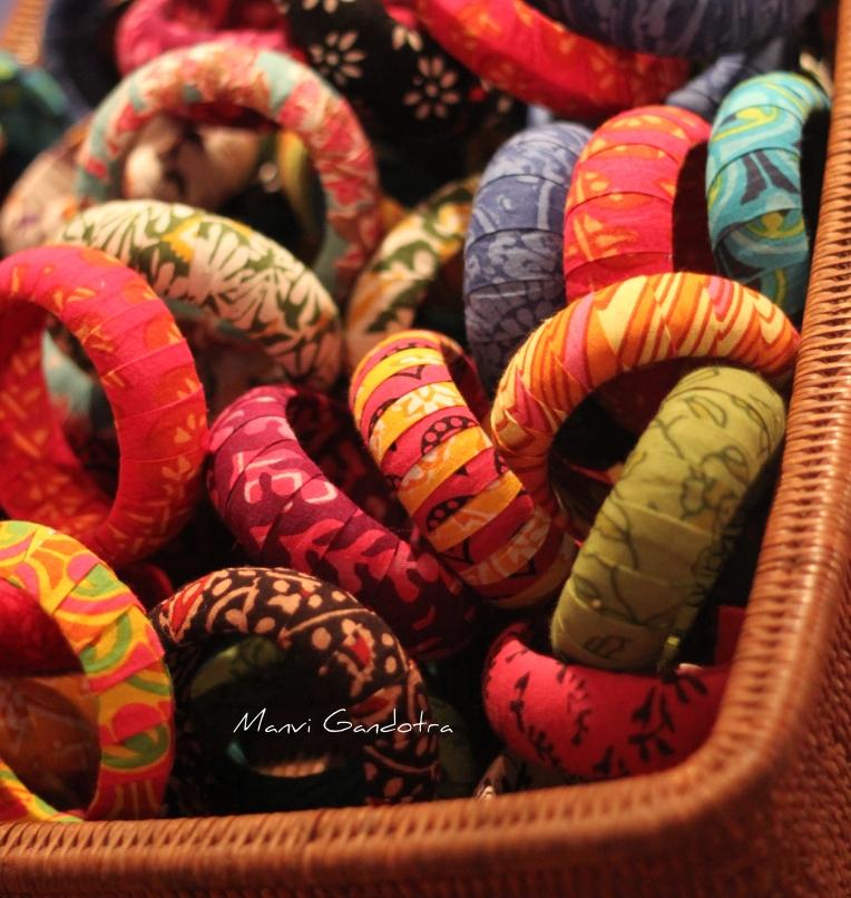Fabric Bangles