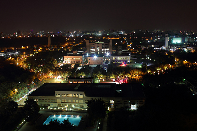 ISB @ Night
