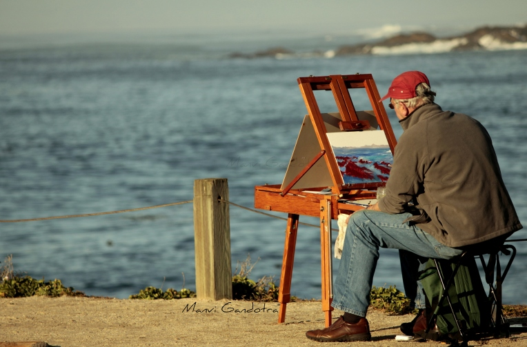The Solitary Painter