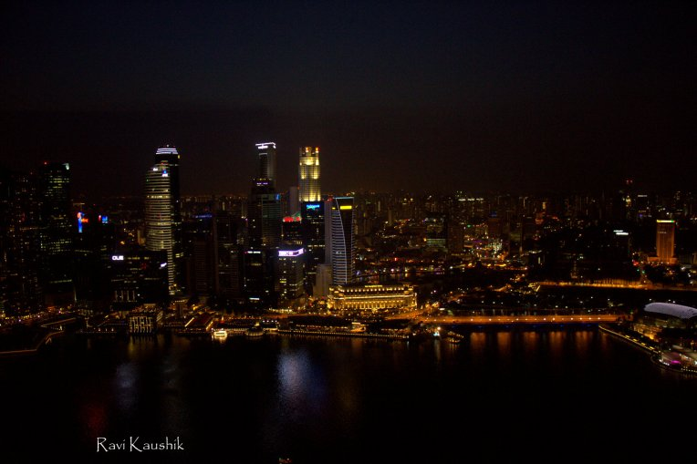View from Marina Bay Sands 4