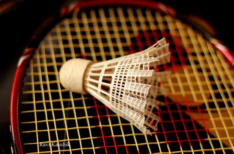 badminton shuttlecock racket